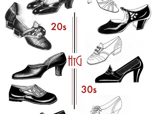 Shoes Fashion Statment of 1920s