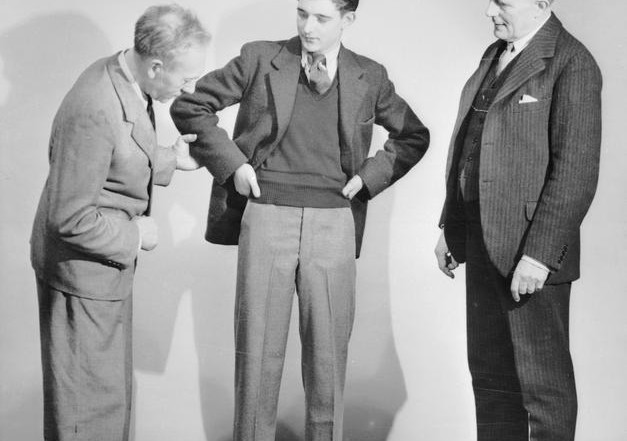 Men's Clothing Styles Of The 1940s
